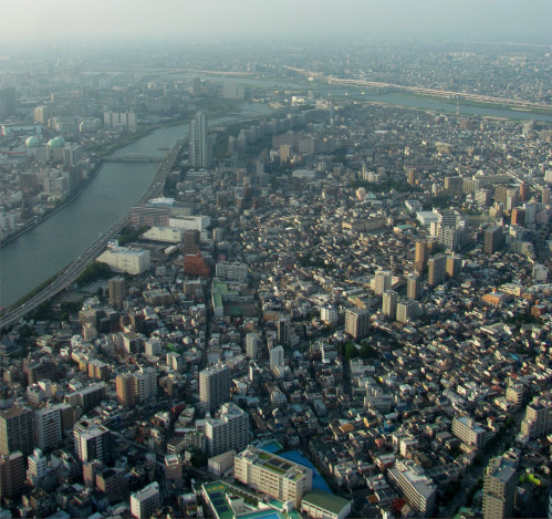 Toyko from the Skytree